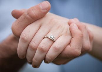 Engagement, wedding, ring, marriage, rainy day
